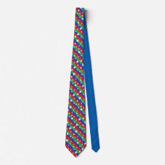 Stars & Stripes Christmas Men's Dress Tie
