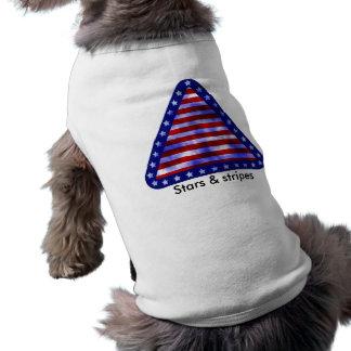 Stars & Stripes Dog Tee