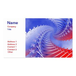 Stars & Stripes five Business Card