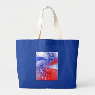 Stars & Stripes five Tote Bags