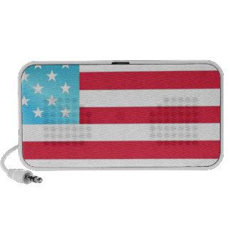 Stars Stripes Flag USA Travel Speakers