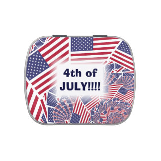 Stars & Stripes Forever Candy Tins