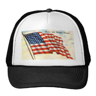 Stars & Stripes Forever Trucker Hat