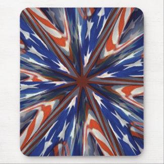 Stars & stripes fractal mousepad