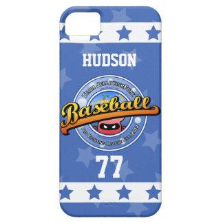 Stars Stripes Jellyfish Personalized Baseball Logo iPhone SE/5/5s Case
