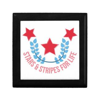 Stars & Stripes Jewelry Box