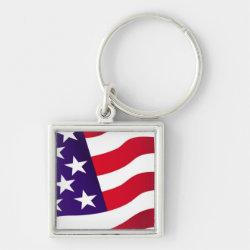 Stars & Stripes - Keychain