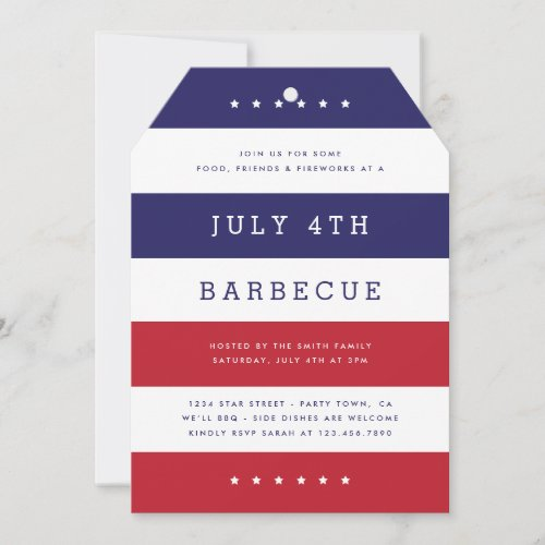 Stars  Stripes Party Invite