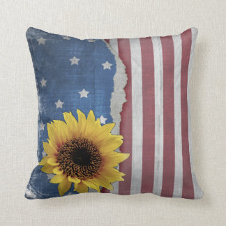 Stars & Stripes Patriotic Pillow