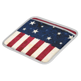 Stars & Stripes Patriotic Sleeve For iPads
