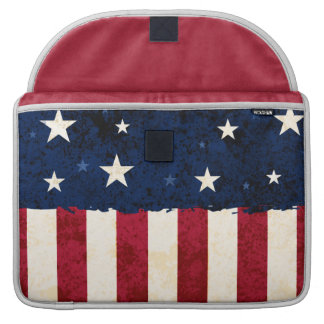 Stars & Stripes Patriotic Sleeves For MacBook Pro