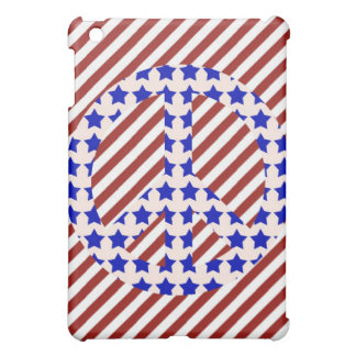 Stars & Stripes Peace Signs iPad Case