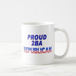 Stars Stripes Proud 2BA Republican Coffee Mug