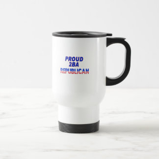 Stars Stripes Proud 2BA Republican Coffee Mugs
