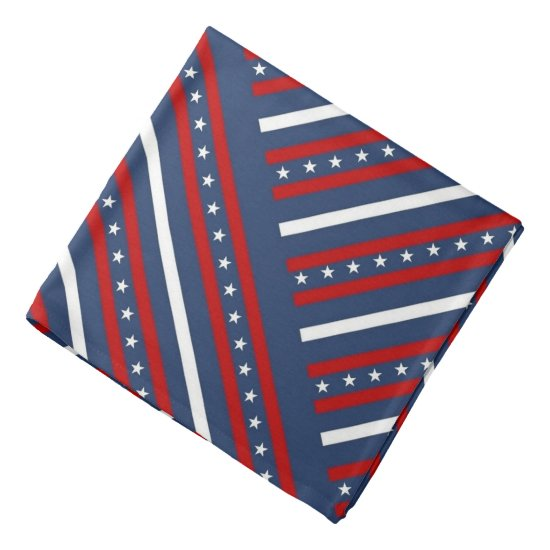Stars & Stripes Star Patriotic Bandana