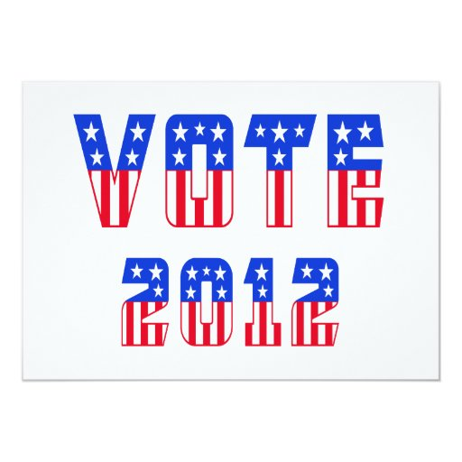 Stars & Stripes Vote 2012 Announcement