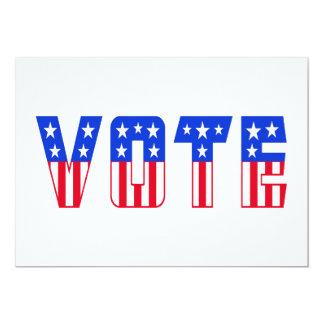 Stars & Stripes Vote Card