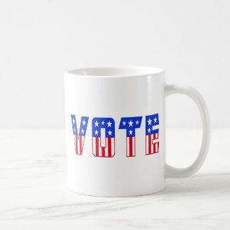 Stars & Stripes Vote Mugs