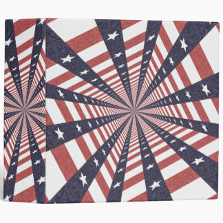 STARS & STRIPES WILD PERSPECTIVE 3 RING BINDER