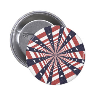 STARS & STRIPES WILD PERSPECTIVE PINBACK BUTTONS