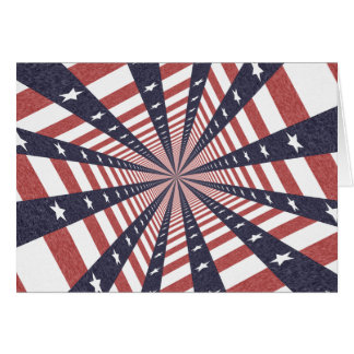 STARS & STRIPES WILD PERSPECTIVE CARD