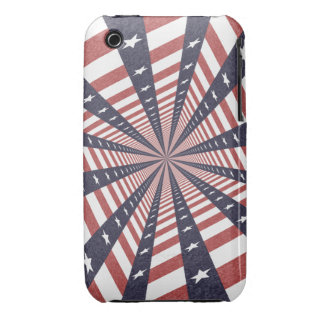STARS & STRIPES WILD PERSPECTIVE iPhone 3 Case-Mate CASE