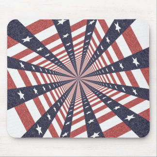STARS & STRIPES WILD PERSPECTIVE MOUSE PAD