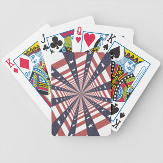 STARS & STRIPES WILD PERSPECTIVE BICYCLE PLAYING CARDS