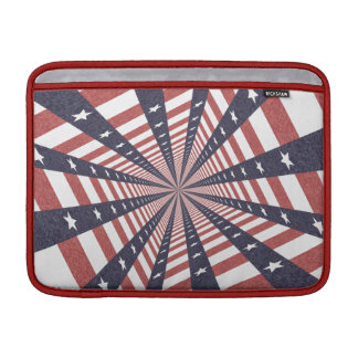 STARS & STRIPES WILD PERSPECTIVE SLEEVES FOR MacBook AIR