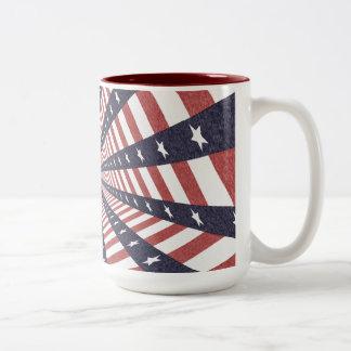 STARS & STRIPES WILD PERSPECTIVE Two-Tone COFFEE MUG