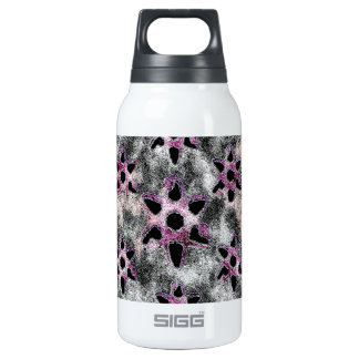 Stars studded in Black Mosaic Insulated Water Bottle