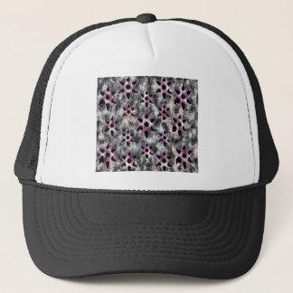 Stars studded in Black Mosaic Trucker Hat