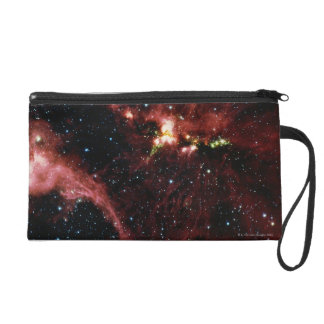 Stars Surrounded by Gas Wristlet Purse