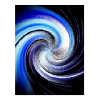 Stars Swirl Postcard