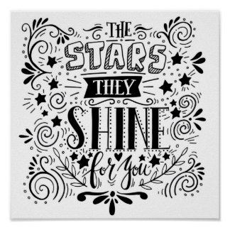 Stars They Shine For You Poster