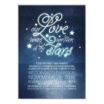 Stars Wedding Invitation