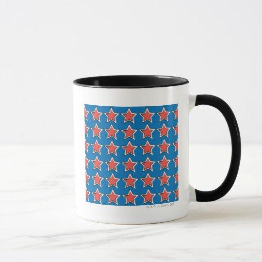 Stars with Blue Background Mug