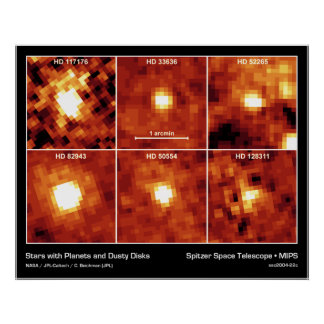 Stars with Planets and Dusty Disks Poster