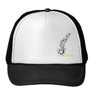 Stars with vine mesh hats