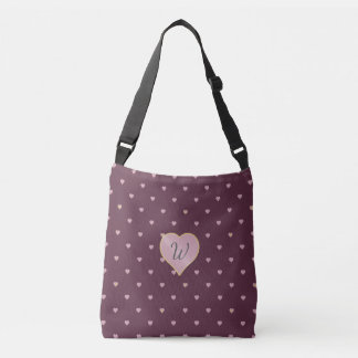 Stars Within Hearts on Port All-Over-Print Bag
