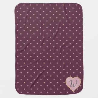 Stars Within Hearts on Port Baby Blanket
