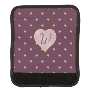Stars Within Hearts on Port Luggage Handle Wrap