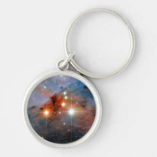 Stars WR 25 & Tr16-244 in Carina Nebula Keychain