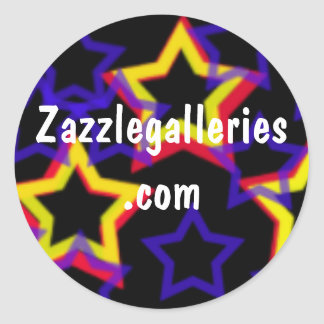 stars, Zazzlegalleries.com-sticker