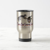 StarsAndStripesCats Mugs, Stainless Steel 15 oz Travel Mug