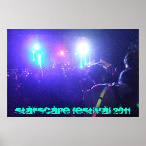 STARSCAPE FESTIVAL 2011 POSTER