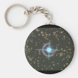 Starscape. (starscape;space;stars_Space Scenes Keychain