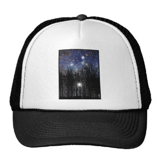Starscape & Trees - Hat #1