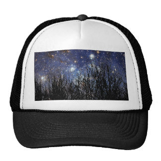 Starscape & Trees - Hat #2