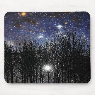 Starscape Trees - Mousepad